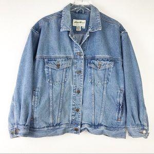 Vintage Eddie Bauer Women's Denim Trucker Jacket M